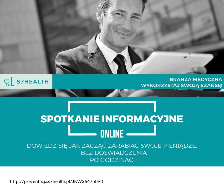 Grafika Promocyjna Zarabiaj z S7Health i S7Law 23.03.2020 19 00 - Współpraca